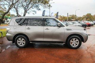 2015 Nissan Patrol Y62 TI-L Grey 7 Speed Sports Automatic Wagon.