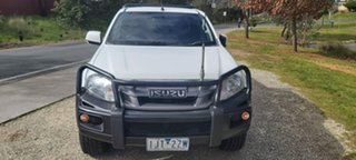 2016 Isuzu D-MAX MY15.5 SX Crew Cab White 5 Speed Sports Automatic Cab Chassis.