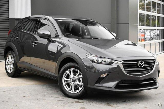 New Mazda CX-3 DK2W7A Maxx SKYACTIV-Drive FWD Sport Waitara, 2021 Mazda CX-3 DK2W7A Maxx SKYACTIV-Drive FWD Sport Grey 6 Speed Sports Automatic Wagon