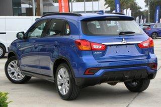 2019 Mitsubishi ASX XC MY19 ES 2WD ADAS Lightning Blue 1 Speed Constant Variable Wagon.