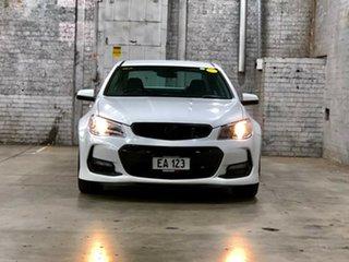 2016 Holden Commodore VF II MY16 SV6 White 6 Speed Sports Automatic Sedan.
