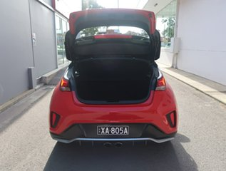 2019 Hyundai Veloster JS MY20 Turbo Coupe D-CT Red 7 Speed Sports Automatic Dual Clutch Hatchback