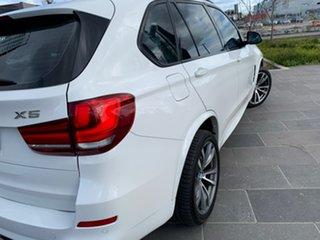 2014 BMW X5 F15 xDrive25d White 8 Speed Automatic Wagon