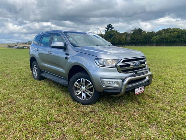 Pre-Owned Ford Everest UA MY17 Trend (RWD) Atherton, 2016 Ford Everest UA MY17 Trend (RWD) Silver 6 Speed Automatic SUV