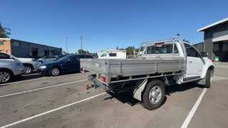 2015 Holden Colorado RG MY15 LS 4x2 White 6 Speed Sports Automatic Cab Chassis.