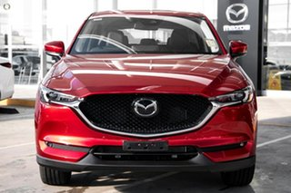 2021 Mazda CX-5 KF4WLA GT SKYACTIV-Drive i-ACTIV AWD Red 6 Speed Sports Automatic Wagon.
