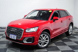 2018 Audi Q2 GA MY18 Sport S Tronic Quattro Red 7 Speed Sports Automatic Dual Clutch Wagon.