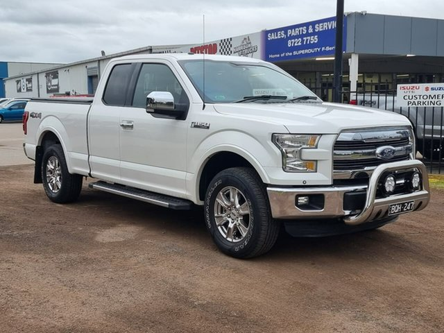 Used Ford F150 Lariat Melton, 2015 Ford F150 (No Series) Lariat White Automatic Utility