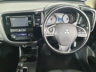 2013 Mitsubishi Outlander ZJ MY14 ES 4WD Black 6 Speed Constant Variable Wagon