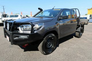 2020 Toyota Hilux GUN126R SR Extra Cab Grey 6 Speed Sports Automatic Cab Chassis