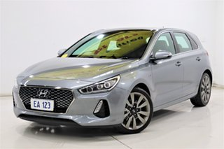 2018 Hyundai i30 PD MY18 SR D-CT Premium Grey 7 Speed Sports Automatic Dual Clutch Hatchback.