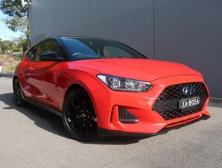 2019 Hyundai Veloster JS MY20 Turbo Coupe D-CT Red 7 Speed Sports Automatic Dual Clutch Hatchback.
