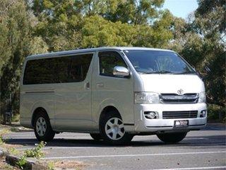 2009 Toyota HiAce KDH201V Super GL Silver 4 Speed Automatic Van.