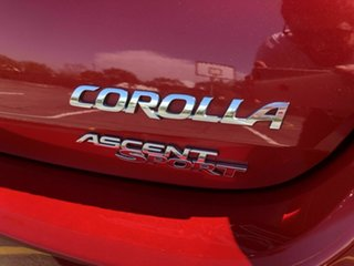 2014 Toyota Corolla ZRE182R Ascent Sport Red 6 Speed Manual Hatchback