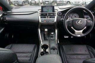 2014 Lexus NX AYZ15R NX300h E-CVT AWD F Sport White 6 Speed Constant Variable Wagon