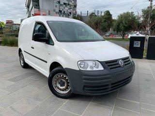 2010 Volkswagen Caddy 2KN SWB DSG White 6 Speed Sports Automatic Dual Clutch Van.