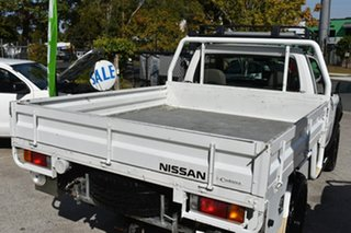 2007 Nissan Patrol GU MY08 DX (4x4) White 5 Speed Manual Coil Cab Chassis