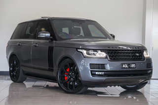 2016 Land Rover Range Rover L405 16MY Vogue Corris Grey 8 Speed Sports Automatic Wagon.