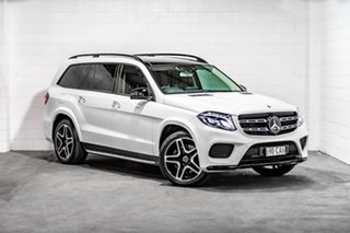 2018 Mercedes-Benz GLS-Class X166 808MY GLS350 d 9G-Tronic 4MATIC White 9 Speed Sports Automatic.