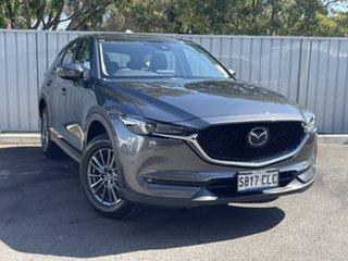 2021 Mazda CX-5 KF4WLA Maxx SKYACTIV-Drive i-ACTIV AWD Sport Machine Grey 6 Speed Sports Automatic.