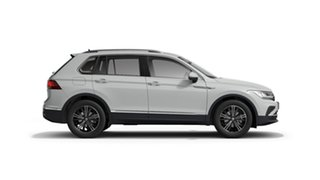 2021 Volkswagen Tiguan 5N MY21 110TSI Life DSG 2WD Pure White 6 Speed Sports Automatic Dual Clutch