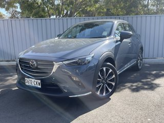 2021 Mazda CX-3 DK2W7A Akari SKYACTIV-Drive FWD Polymetal Grey 6 Speed Sports Automatic Wagon.