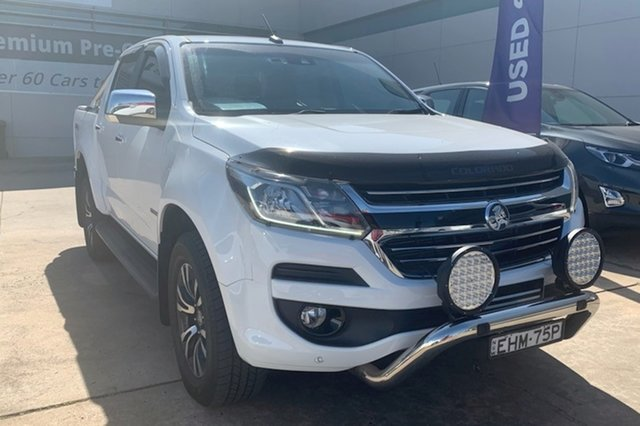 Used Holden Colorado RG MY19 LTZ Pickup Crew Cab Chullora, 2019 Holden Colorado RG MY19 LTZ Pickup Crew Cab White 6 Speed Sports Automatic Utility