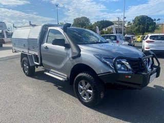 2019 Mazda BT-50 UR0YG1 XT Silver 6 Speed Sports Automatic Cab Chassis.