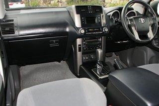 2013 Toyota Landcruiser Prado KDJ150R MY14 GXL Silver Pearl 5 Speed Sports Automatic Wagon
