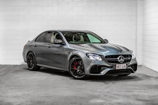 2017 Mercedes-Benz E-Class W213 808MY E63 AMG SPEEDSHIFT MCT 4MATIC+ S Grey 9 Speed Sports Automatic.