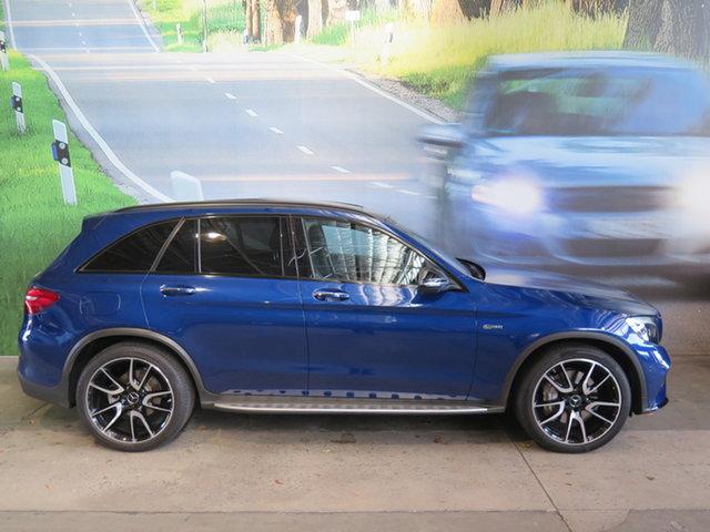Used Mercedes-AMG GLC43 253 MY17 Osborne Park, 2016 Mercedes-AMG GLC43 253 MY17 Blue 9 Speed Automatic G-Tronic Wagon