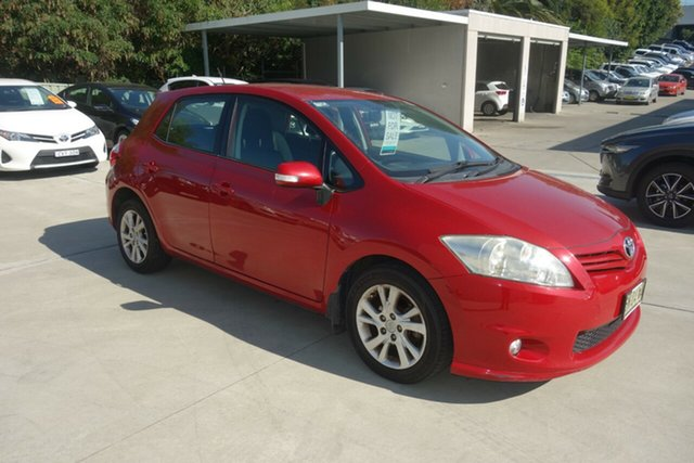 Used Toyota Corolla ZRE152R MY11 Ascent East Maitland, 2011 Toyota Corolla ZRE152R MY11 Ascent White 4 Speed Automatic Hatchback