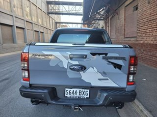 2018 Ford Ranger PX MkIII 2019.00MY Raptor Conquer Grey 10 Speed Sports Automatic Utility