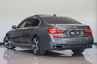 2015 BMW 7 Series G12 740Li Steptronic Megellan Grey 8 Speed Sports Automatic Sedan.