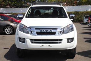 2016 Isuzu D-MAX MY15.5 LS-U Crew Cab White 5 Speed Sports Automatic Utility.
