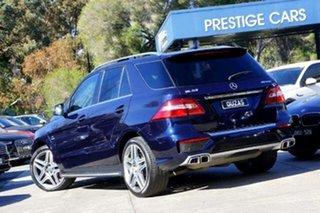 2013 Mercedes-Benz M-Class W166 ML63 AMG SPEEDSHIFT DCT Cavansite Blue 7 Speed.