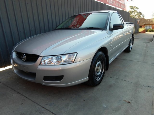 Used Holden Ute VZ MY06 Blair Athol, 2006 Holden Ute VZ MY06 Silver 4 Speed Automatic Utility