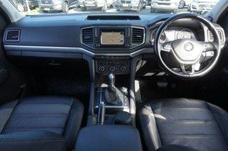 2018 Volkswagen Amarok 2H MY18 TDI550 4MOTION Perm Highline White 8 Speed Automatic Utility