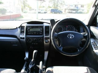 2005 Toyota Landcruiser Prado GRJ120R GXL Black 5 Speed Automatic Wagon