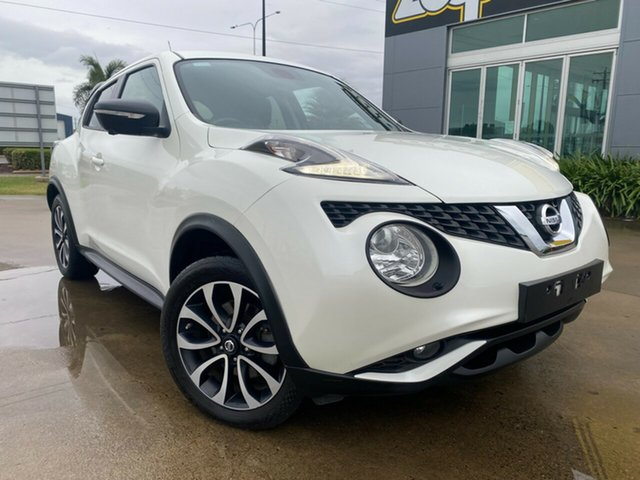Used Nissan Juke F15 Series 2 Ti-S X-tronic AWD Garbutt, 2016 Nissan Juke F15 Series 2 Ti-S X-tronic AWD White 1 Speed Constant Variable Hatchback