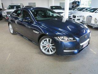 2017 Jaguar XF X260 MY17 R-Sport Blue 8 Speed Sports Automatic Sedan.