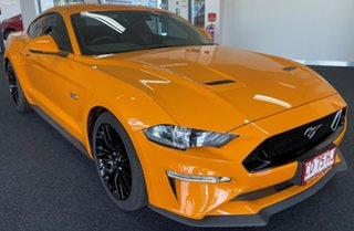 2019 Ford Mustang FN 2019MY GT Orange 10 Speed Sports Automatic Fastback.