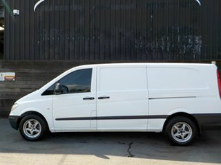 2008 Mercedes-Benz Vito 639 MY08 111CDI Crew Cab Low Roof Extra Long White 6 Speed Manual Van