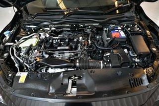 2017 Honda Civic 10th Gen MY17 VTi-L Black 1 Speed Constant Variable Hatchback