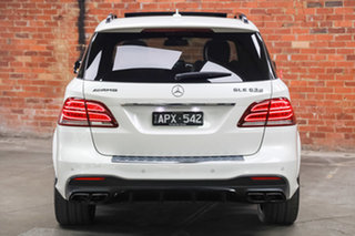 2017 Mercedes-Benz GLE-Class W166 807MY GLE63 AMG SPEEDSHIFT PLUS 4MATIC S White 7 Speed