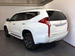 2016 Mitsubishi Pajero Sport QE MY17 GLX White 8 Speed Sports Automatic Wagon