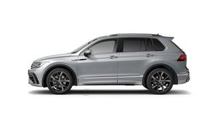 2021 Volkswagen Tiguan 5N MY21 162TSI R-Line DSG 4MOTION Reflex Silver 7 Speed.