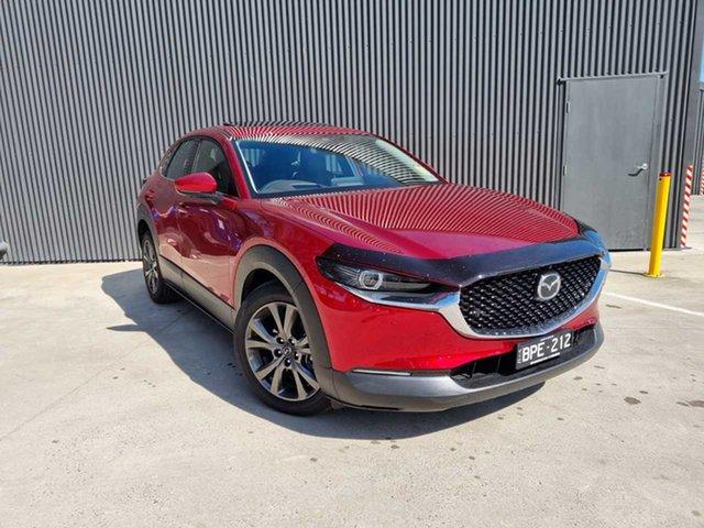 Demo Mazda CX-30 DM2WLA G25 SKYACTIV-Drive Astina Mornington, 2021 Mazda CX-30 DM2WLA G25 SKYACTIV-Drive Astina Soul Red Crystal 6 Speed Sports Automatic Wagon