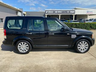 2013 Land Rover Discovery 4 Series 4 L319 MY13 SDV6 SE Black 8 Speed Sports Automatic Wagon.