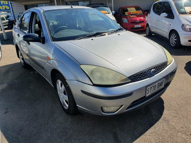 Used Ford Focus LR MY2003 LX Morphett Vale, 2004 Ford Focus LR MY2003 LX Silver 4 Speed Automatic Sedan